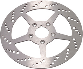 Drilled Motorcycle Brake Rotors