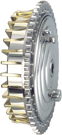 hydraulic rear drum brake
