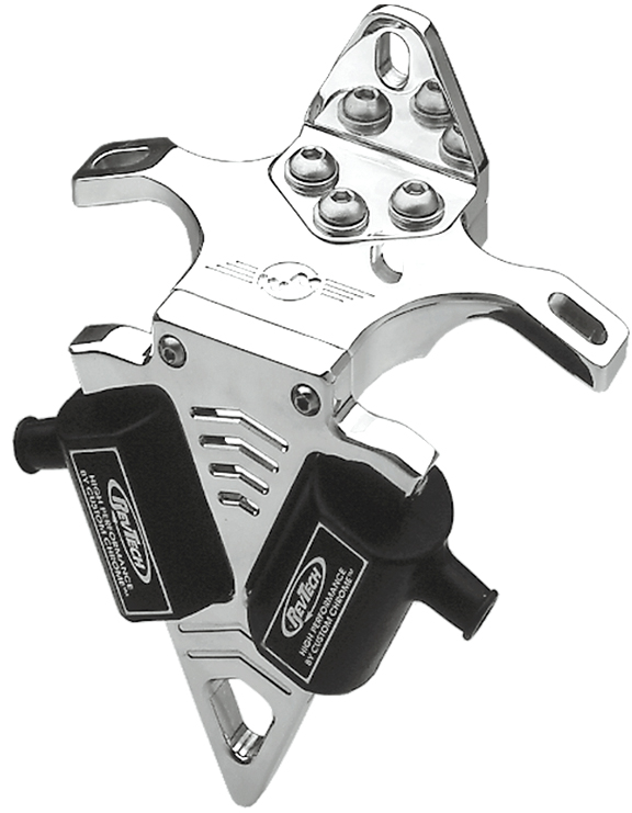 slotted motorcycle coil bracket