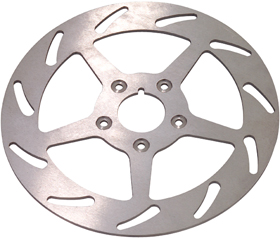 Slotted Motorcycle Brake Rotors
