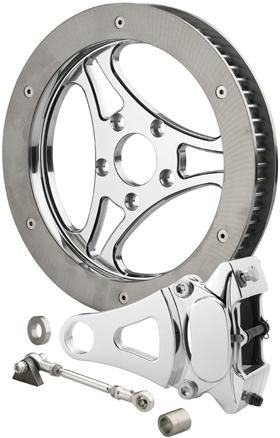 Three Spoke Cut Pulley-Rotor Kit