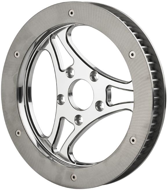 3 spoke cut pulley rotor kit
