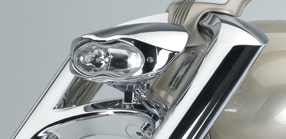 3d custom motorcycle headlight