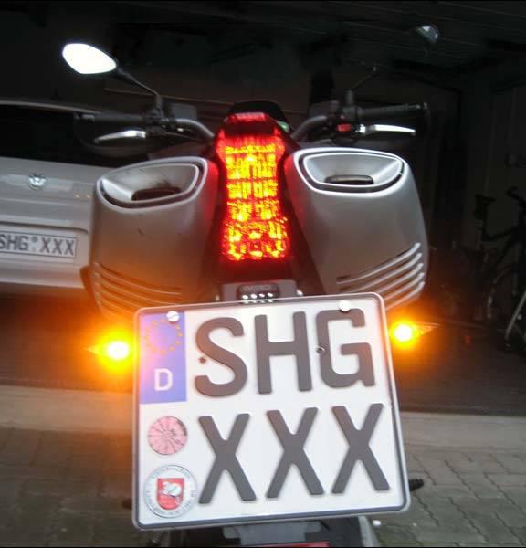 3d motorcycle blinkers