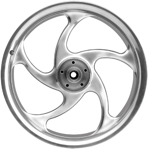 5 spoke custom motorcycle wheels