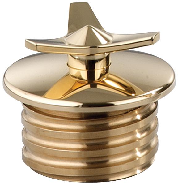 brass spinner custom gas cap for stock tanks