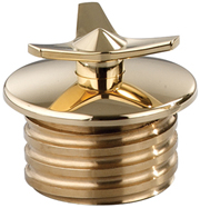 Brass Spinner Custom Gas Cap for Stock Tanks