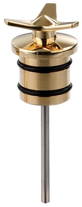 brass spinner motorcycle oil plug