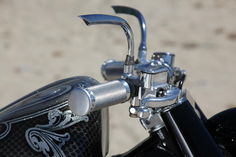 chrome mirrors for harleys