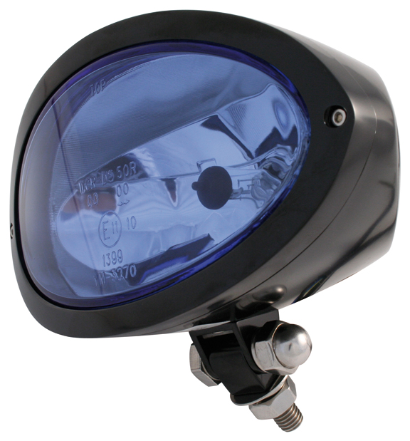 cronus black headlights with mount