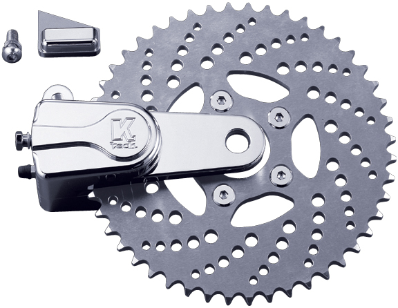 drilled sprocket rotor kit