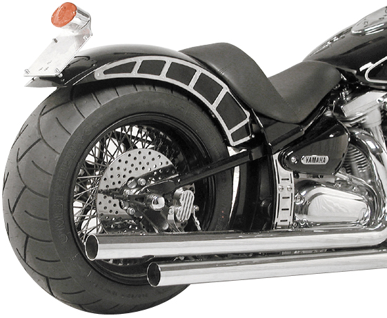evo custom yamaha roadstar fenders