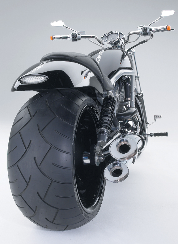 extra wide rear fender for v rod