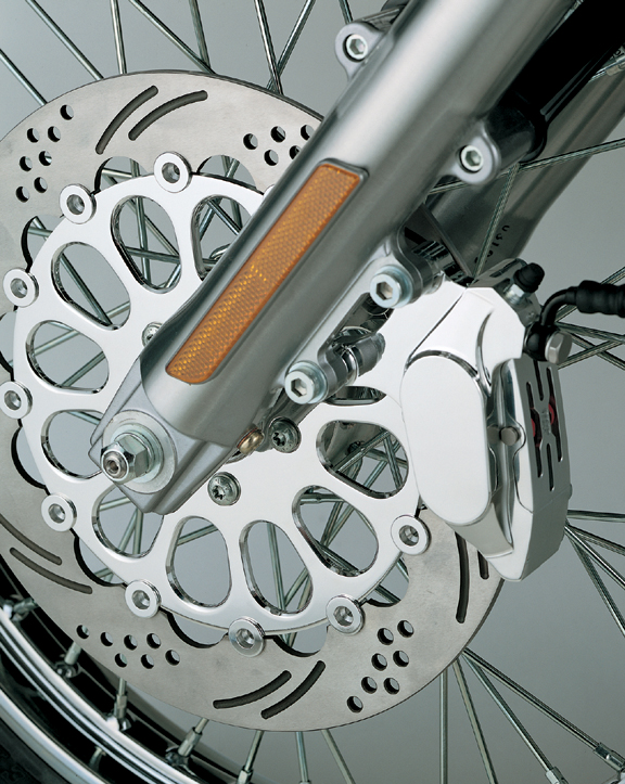 four piston front calipers for v rods