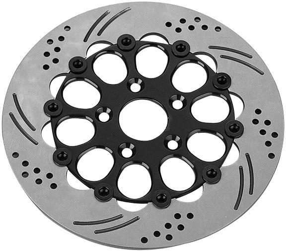 hole floating rotors for v rod