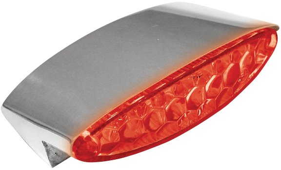 ice motorcycle led tail lights with billet fender mount