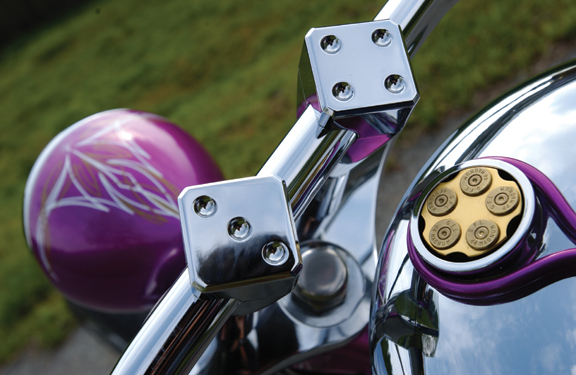 lucky seven motorcycle risers