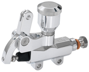 Motorcycle Master Cylinder with Lever and Billet Reservoir
