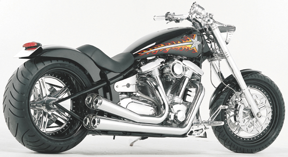 Yamaha Road Star Exhaust Pipes