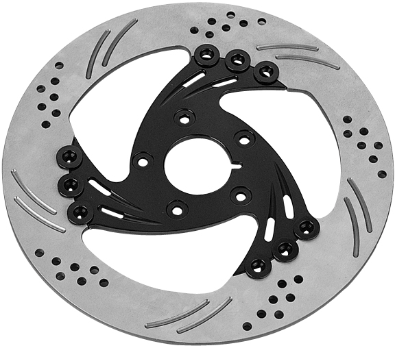 nail floating rotors for v rod