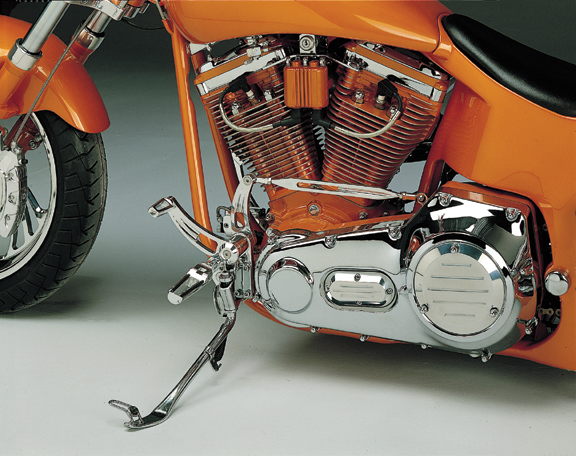 nail motorcycle forward control with race pegs for up to 1999 softails and dynas