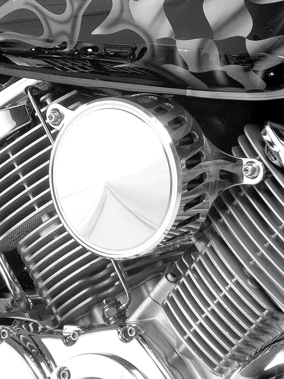 custom yamaha roadstar air filter