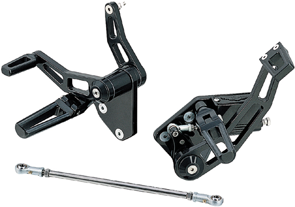 race motorcycle forward control with race pegs for up to 1999 softails and dynas
