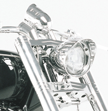 Custom Yamaha Roadstar Triple Trees