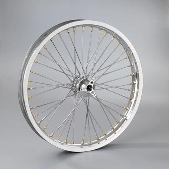 spinner front wheel hub