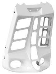 Stealth Radiator Cover for V Rods