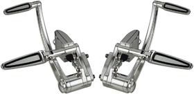 Super Smooth Custom Forward Controls with Brake and Hydraulic Clutch Master Cylinders