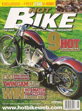 Hot Bike August 2003