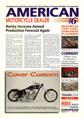 American Motorcycle Dealer Vol.1 Issue 6