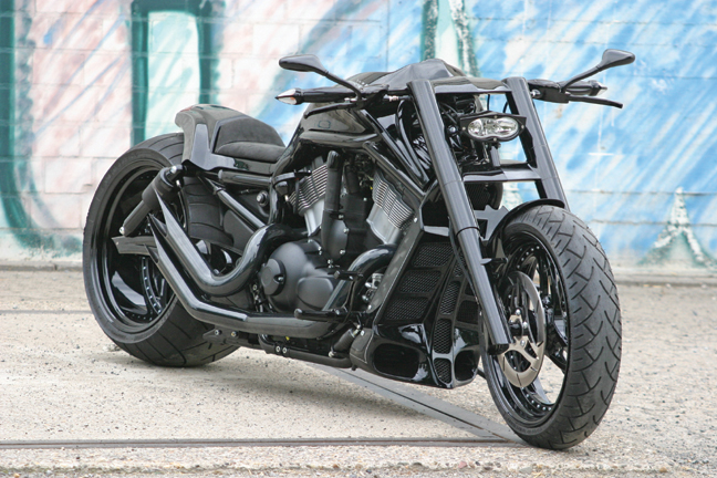 black shot custom v rod