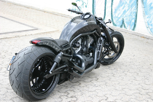 black shot custom v rod