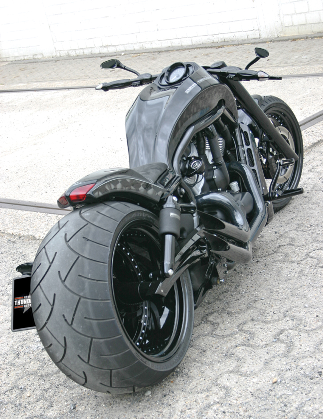 Black Shot Custom V-Rod