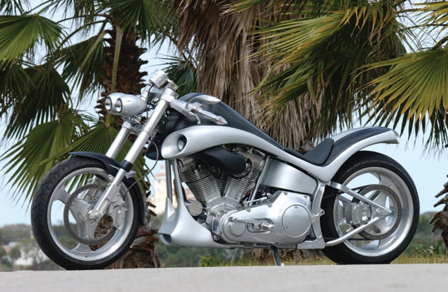 bulldog custom motorcycle