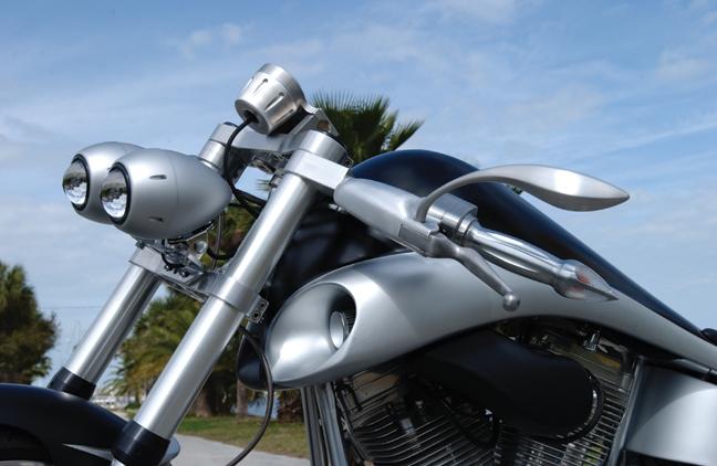 bulldog custom motorcycle