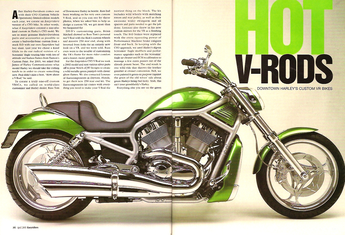 easyriders custom v rod