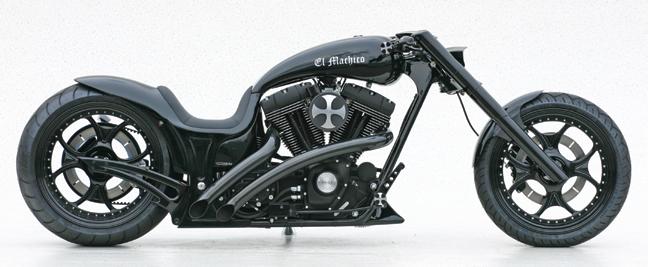 el machico custom motorcycle
