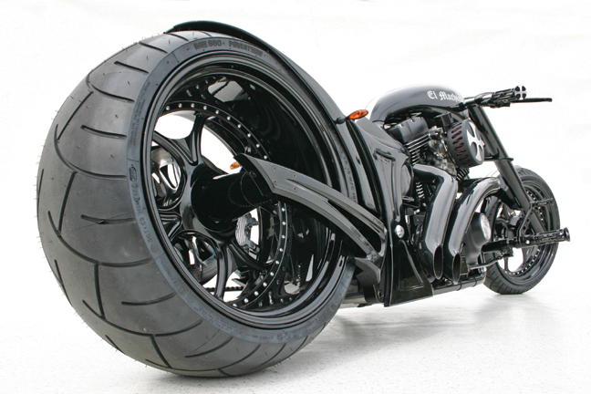 el machico custom motorcycle