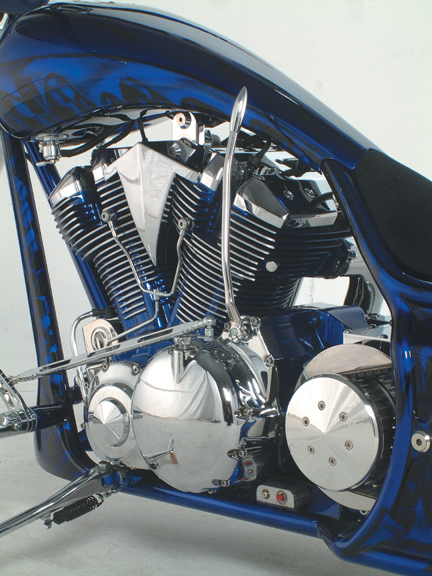 freestyle custom yamaha roadstar