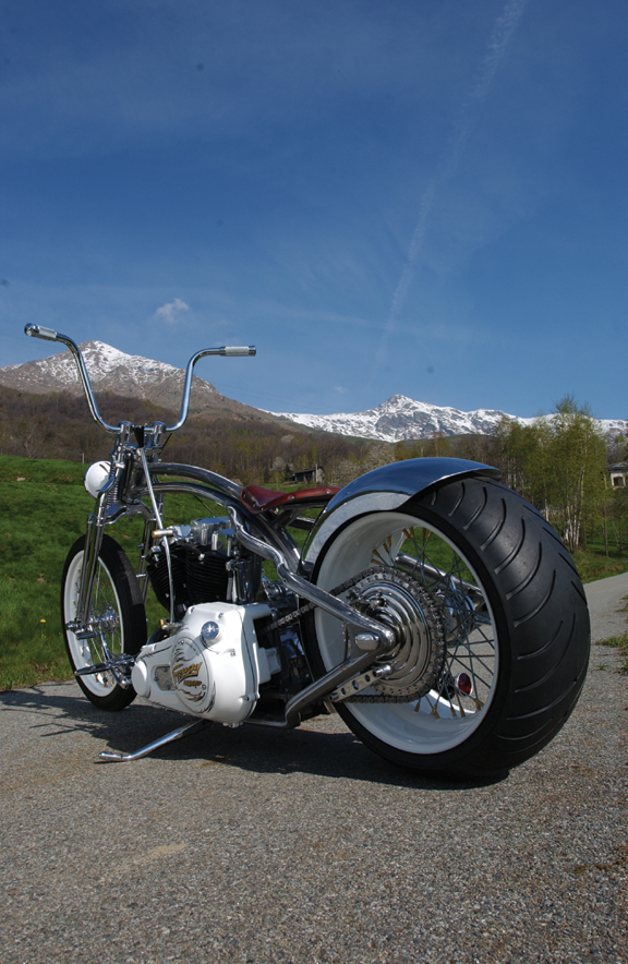 freeway custom chopper