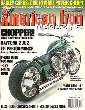 American Iron Magazine July 2002