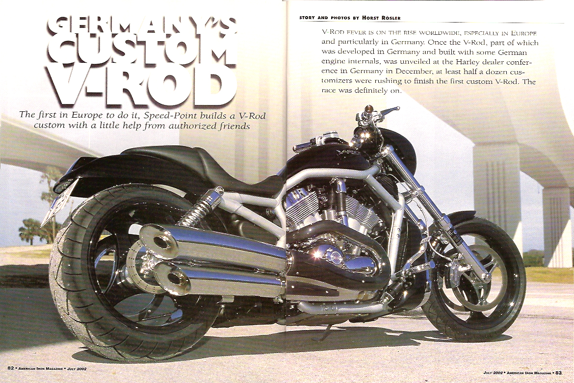 wide tire harley v rod