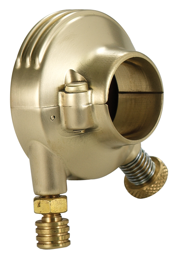 retro brass throttle assembly
