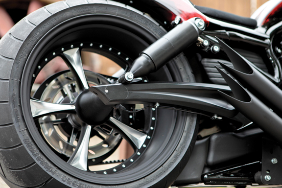 v-rod swingarm 300 tire