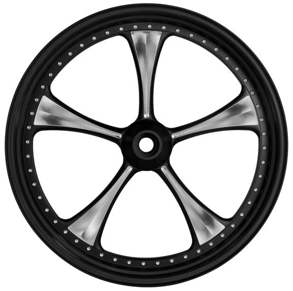 3d lowrider custom motorcycle wheels 4