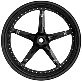 3D Open Mind Custom Motorcycle Wheels