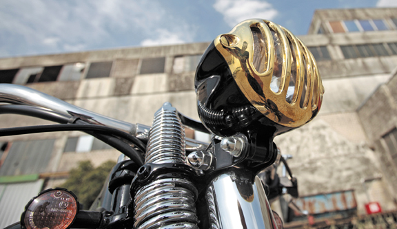alcatraz brass motorcycle headlight 9